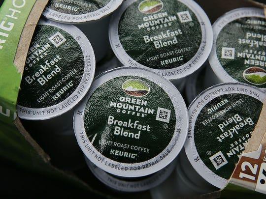 Green Mountain Coffee Roasters.