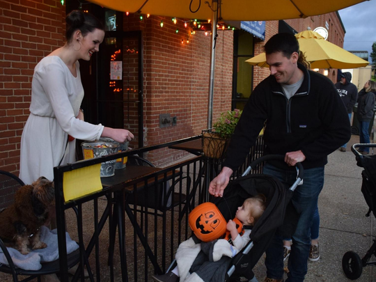 Alabama: The annual Auburn Downtown Trick or Treat event