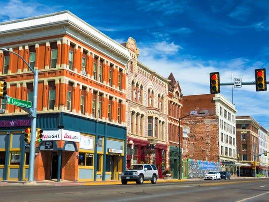 Wyoming: Cheyenne.