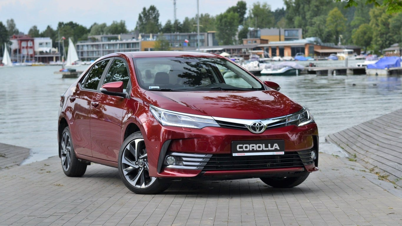Attractive Toyota Is The Only Car Brand That Ranks Highly In Terms Of Market Share And  Overall