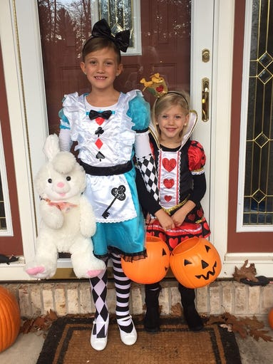 McKinley Pagel, 7, and Quinlyn Pagel, 5, are the daughters