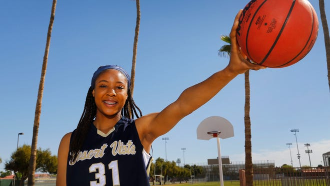 On Monday night, Kristine Anigwe will attempt to be the first girl to win the McDonald's All American slam dunk contest since Candace Parker in 2004.