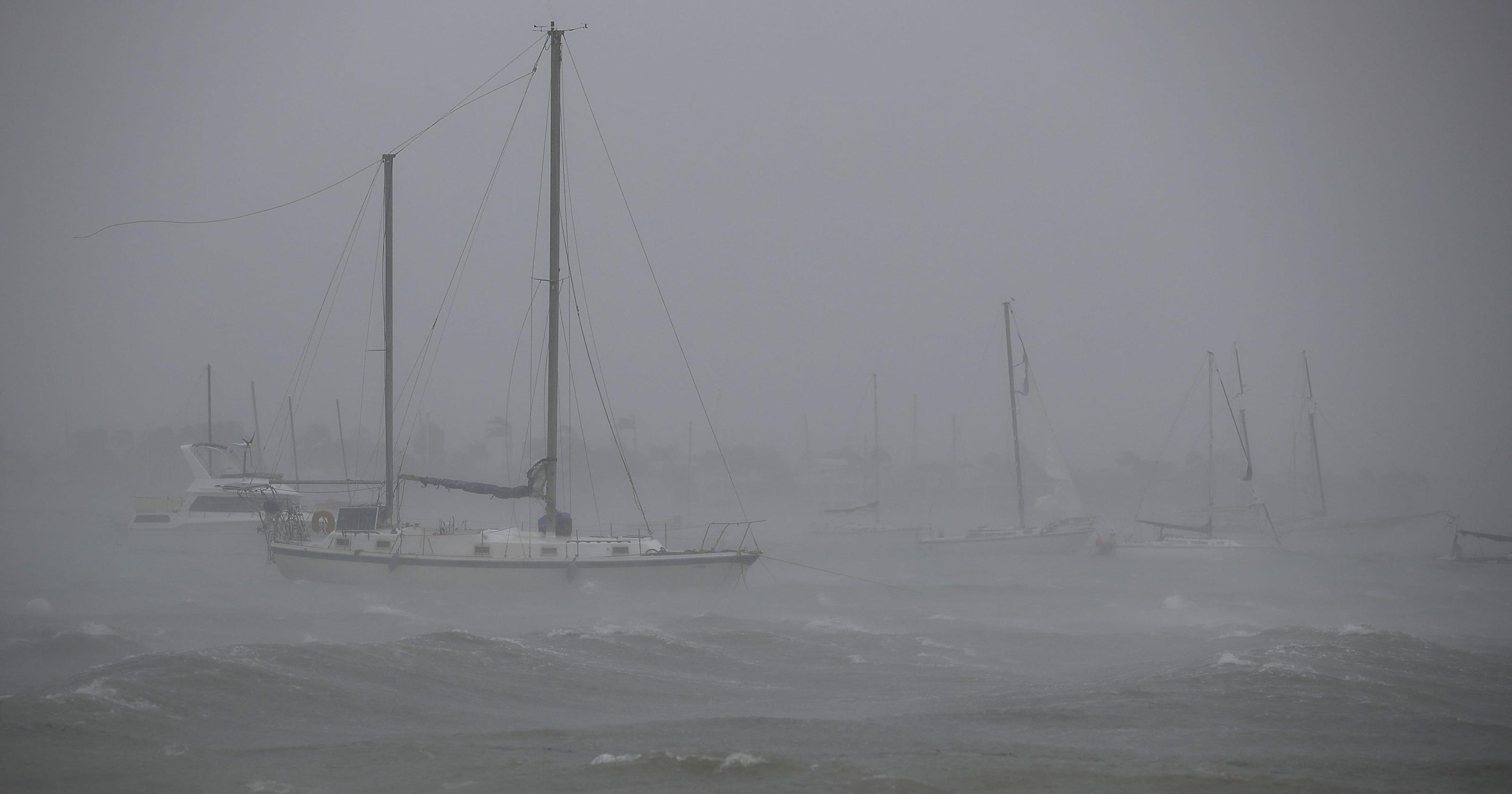 Hurricane Irma slams Key West, Florida Keys