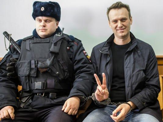 AP APTOPIX RUSSIA PROTEST I RUS