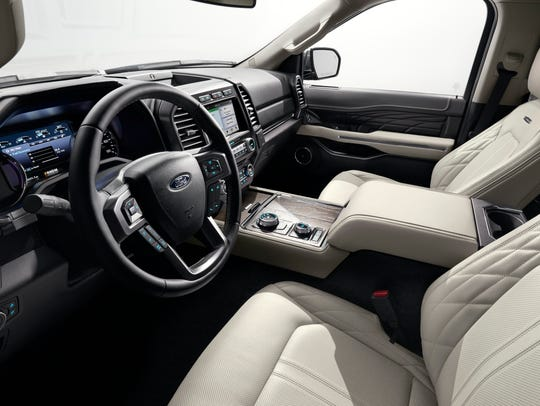 All New  Ford Expedition Full Size Suv With Adaptable