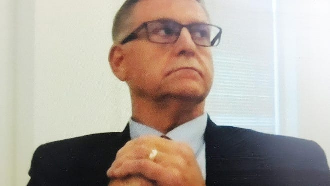 Judge Paul Sushchyk in a screen capture from a July hearing streamed via Zoom