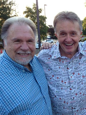 Gene Watson, left, and Bill Anderson will be in concert together Friday at the Montgomery Performing Arts Centre.