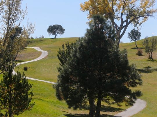 The Hidden Valley Golf course is pictured Nov. 3 in Aztec.