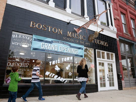Boston Music Studios School of Fine Arts at 109 S. Main St. in Aztec. is pictured on Thursday.