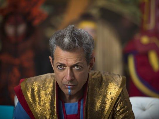 "Jeff Goldblum stars in ""Thor: Ragnarok."""