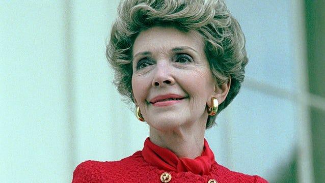 Nancy Reagan: California girl.