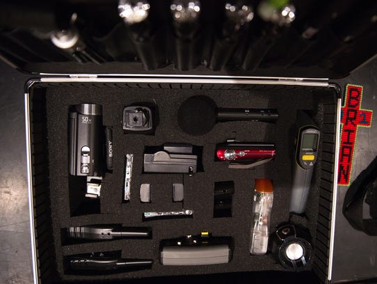 Brian Phillips' used this equipment to investigate