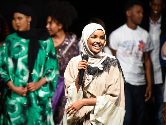 Model and former Apollo student Halima Aden made an