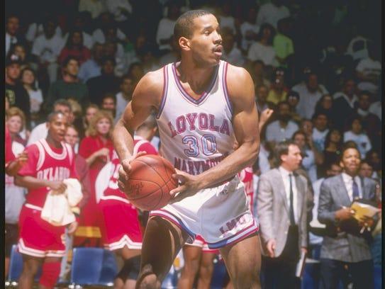 Bo Kimble's on-court tribute to fallen Loyola Marymount