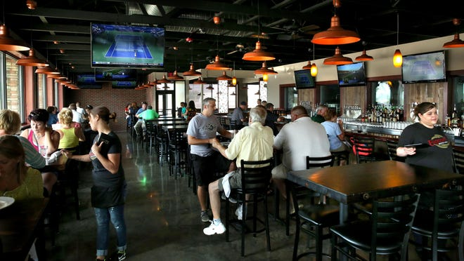 An interior view of the main dining room at Engrained Brewing Company in Springfield in 2013. David Spencer/The State Journal-Register