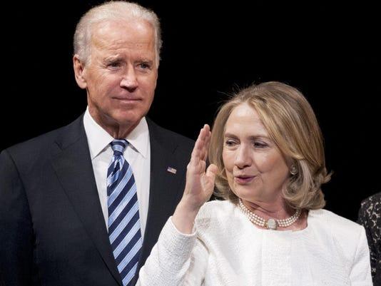 Joe Biden, Hillary Rodham Clinton