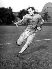 George 'Sonny' Franck, RB, Davenport High School: All-state
