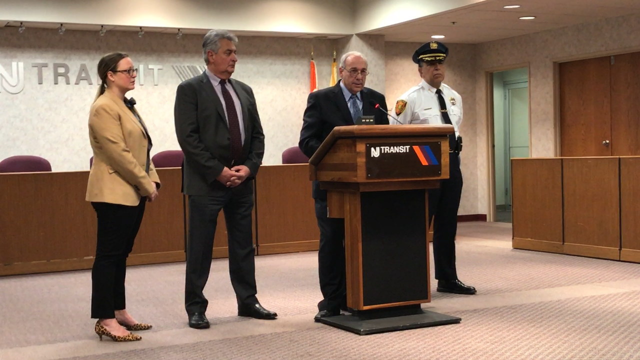 Video: NJ Transit Executive Director Steve H. Santoro speaks to report