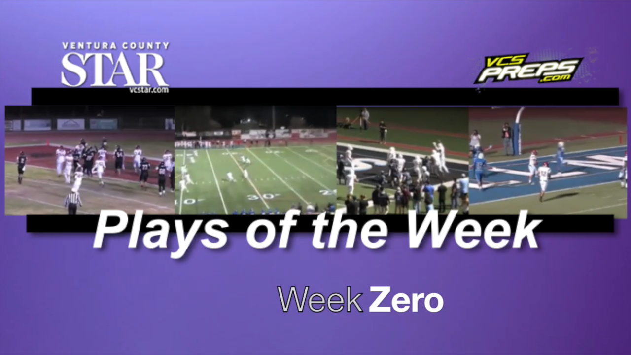 Prep football Plays of the Week: Week Zero
