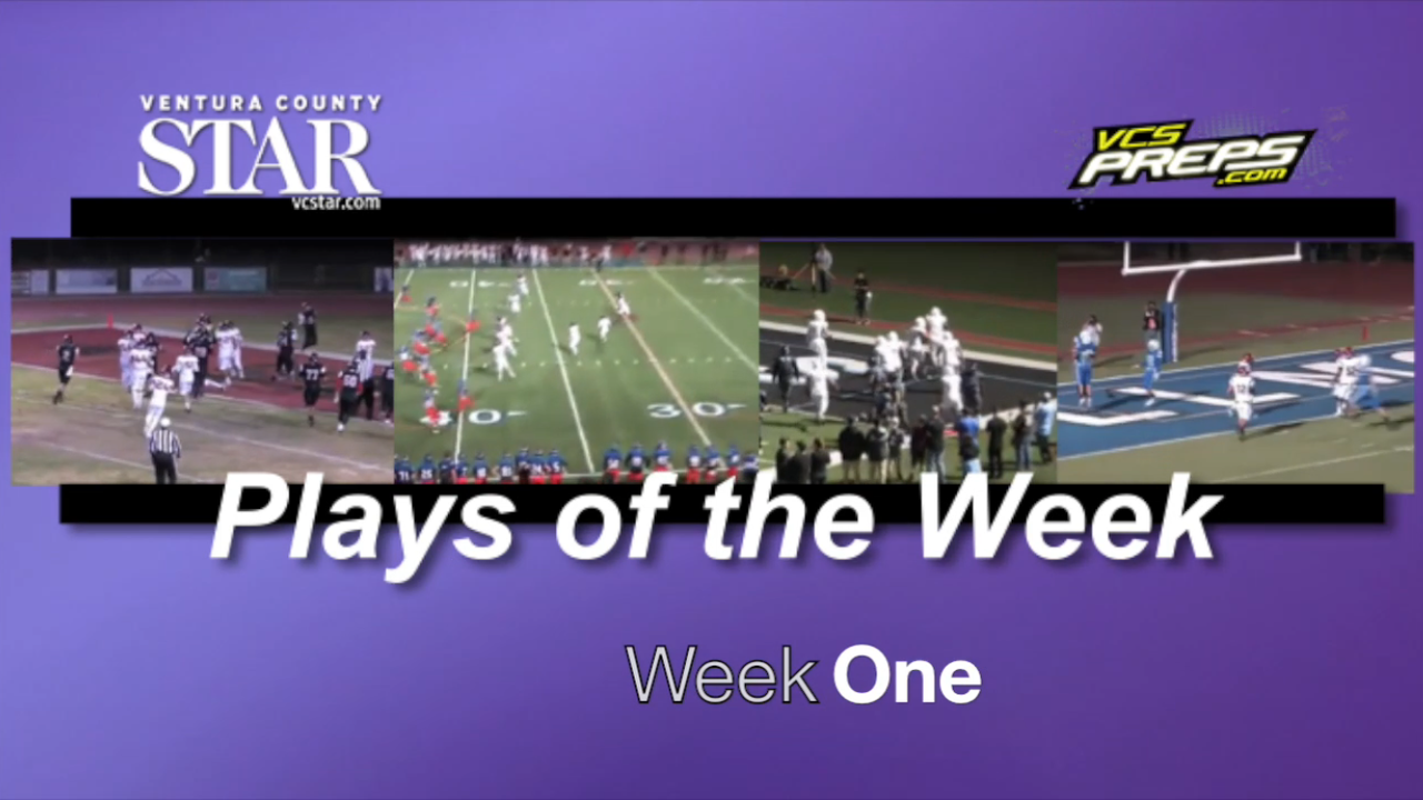 Plays of the Week: Week One