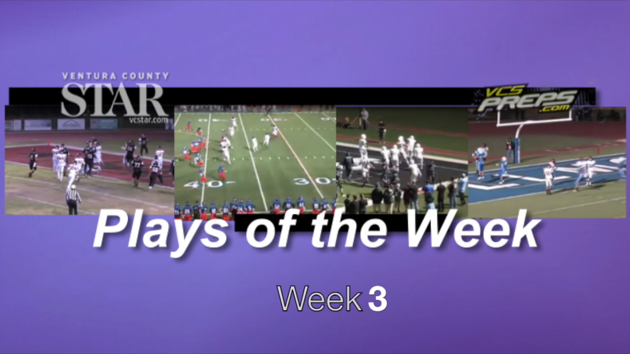 Plays of the Week: Week 3