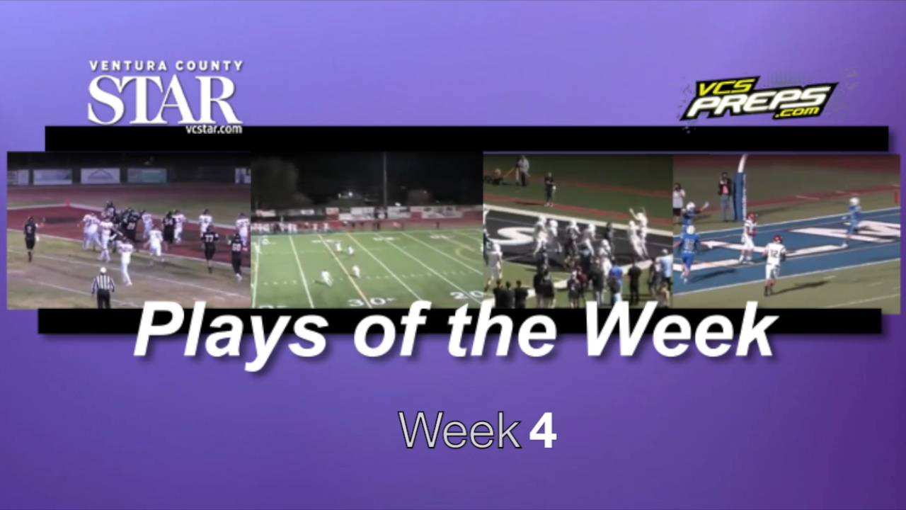 Prep football plays of the week: Week 4