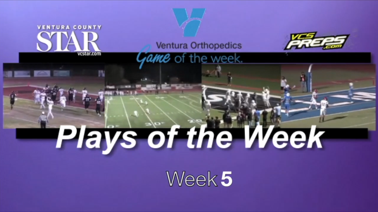 Plays of the Week: Week 5