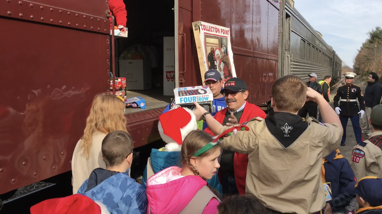 Video: Operation Toy Train in Pompton Lakes