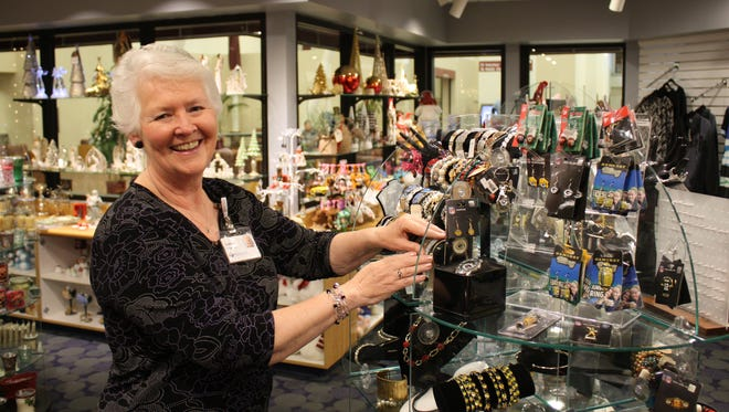 Cathie Seffern enjoys volunteering at the St. Agnes Hospital Gift Shop, 430 E. Division St. She regularly volunteers with Carol Sonnentag, and they both find great satisfaction in helping customers find the perfect gift.