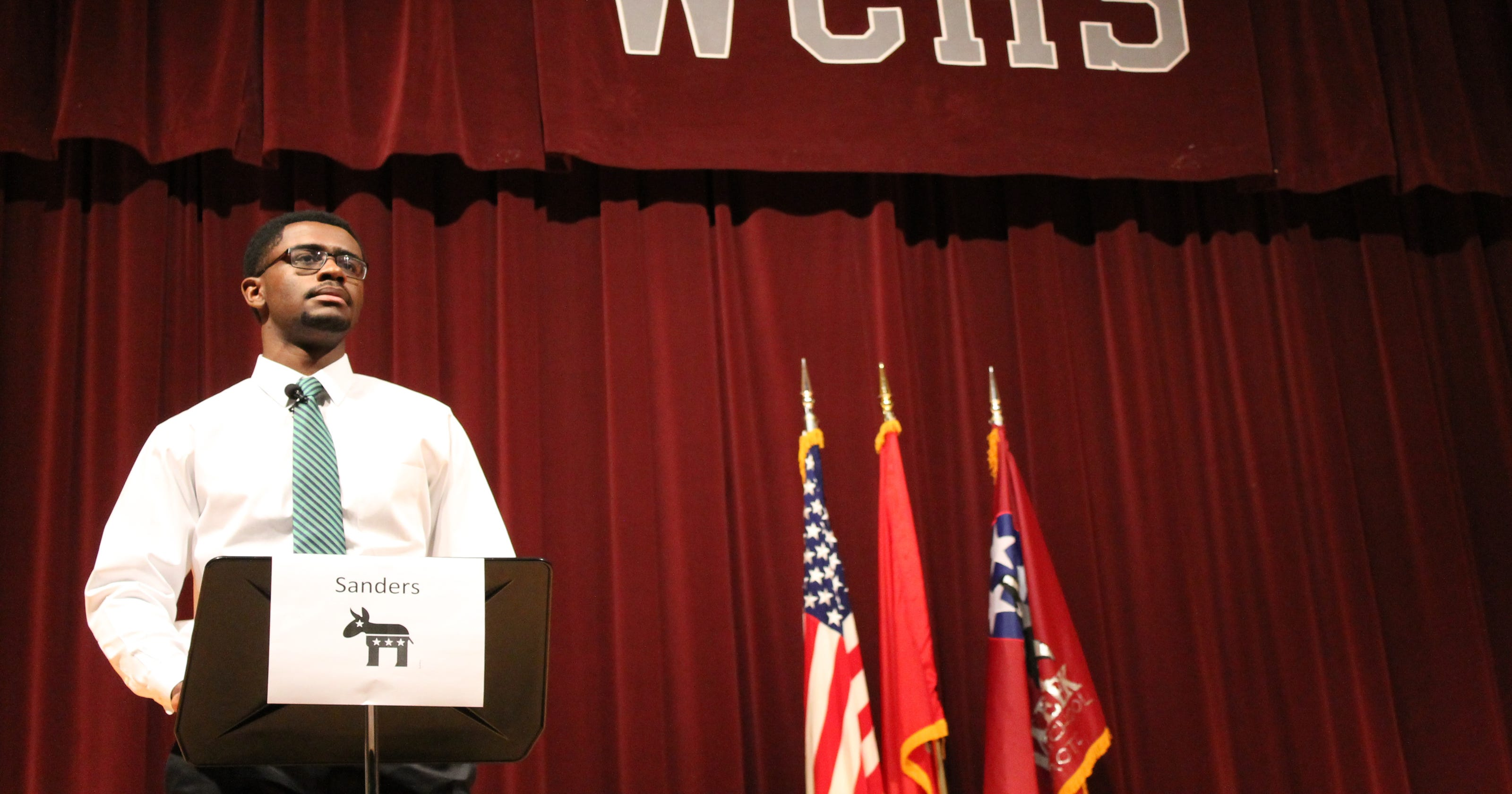 WCHS student debate inspires young voters