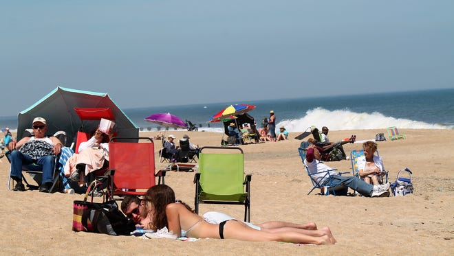 "People flock to Rehoboth Beach on the first 80-degree this spring. Rehoboth has been nominated by ""USA Today"" Readers as one of the best coastal small towns in America."