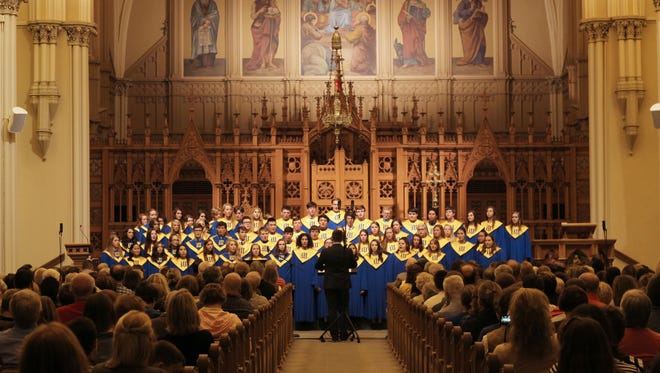 The Wahlert Catholic High School choir is set to perform Nov.  20 at the closing Mass of Pope Francis' Jubilee Year of Mercy at St. Peter's Basilica.