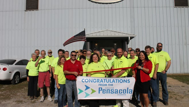 To celebrate 30 years of business, Fisher Cabinets recently held a ribbon cutting and open house of its new facility at 3900 N. Palafox St. in Pensacola.