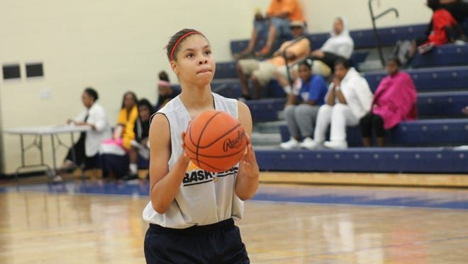 Arielle Varner scored 17 points and had 14 rebounds in Walnut Hills' 52-47 win over Winton Woods Monday.