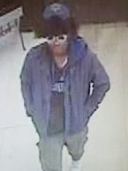 Police say this man exposed himself to an Acme employee in Newark.