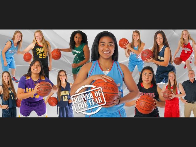2015 ALL-COUNTY GIRLS BASKETBALL TEAM