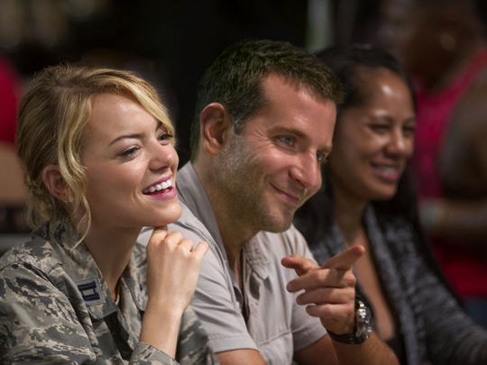 """Emma Stone and Bradley Cooper can't elevate a soggy script in """"Aloha."""""""