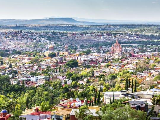 San Miguel de Allende, ubicada en el estado de Guanajuato.