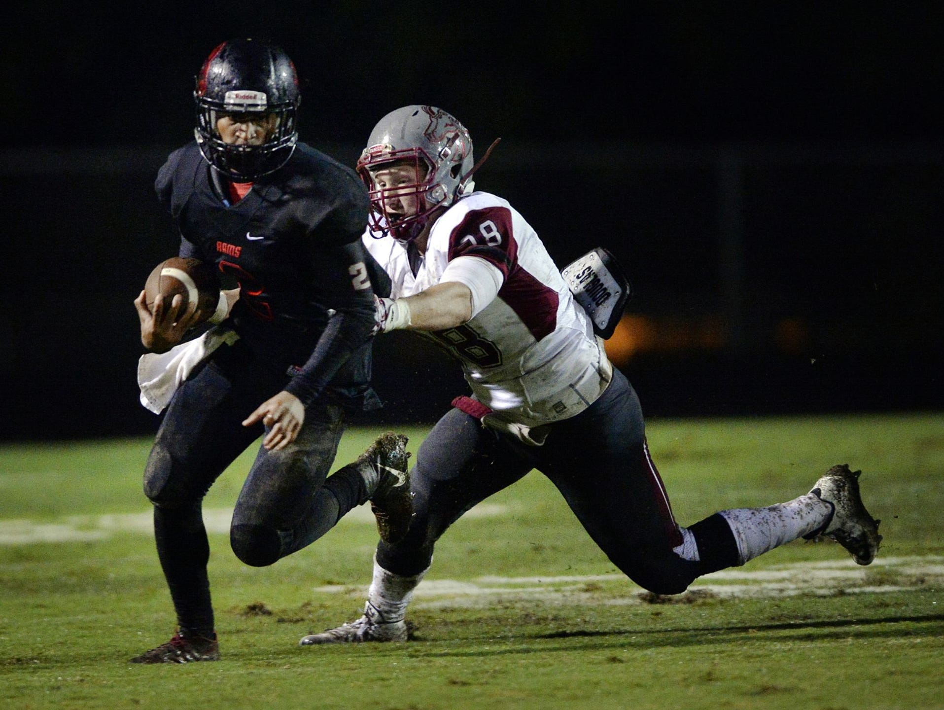 Wide receiver Brian Spurgeon (2) and the Hillcrest Rams hope to get back on the winning side Friday when they host Greenville at Chandler Stadium.