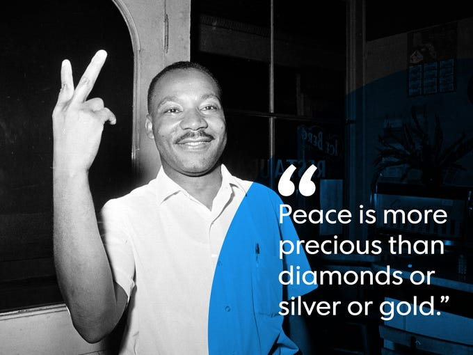Martin Luther King Quote Custom Martin Luther King Jr Quotes From Nobel Peace Prize Speech