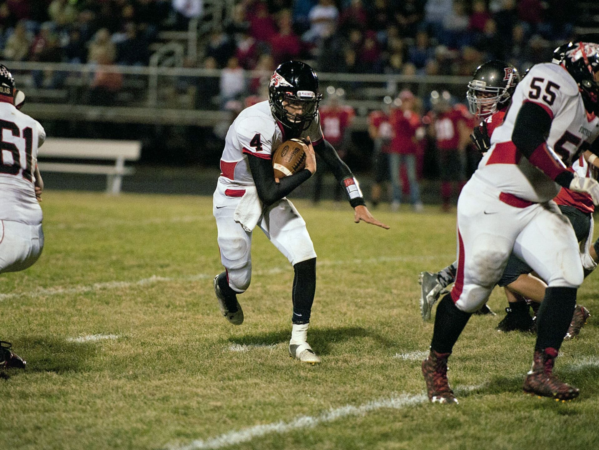 Bucyrus sophomore quarterback Damon Parsell will look to build on an impressive Week 7 performance.