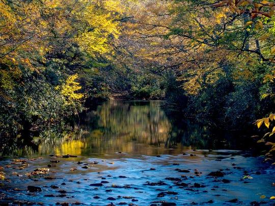 The Linville River.