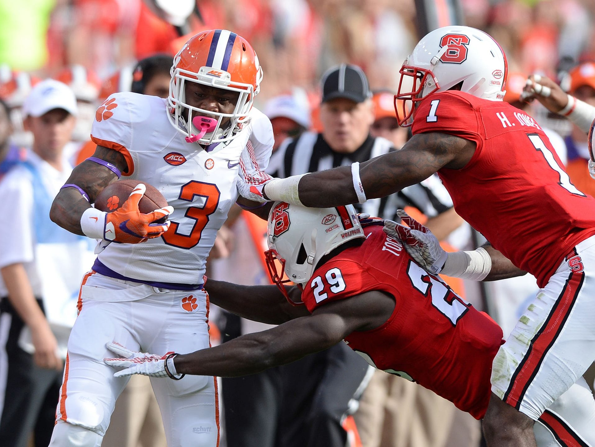 Clemson retained the No. 2 spot in the FourSight College Football Playoff projection.