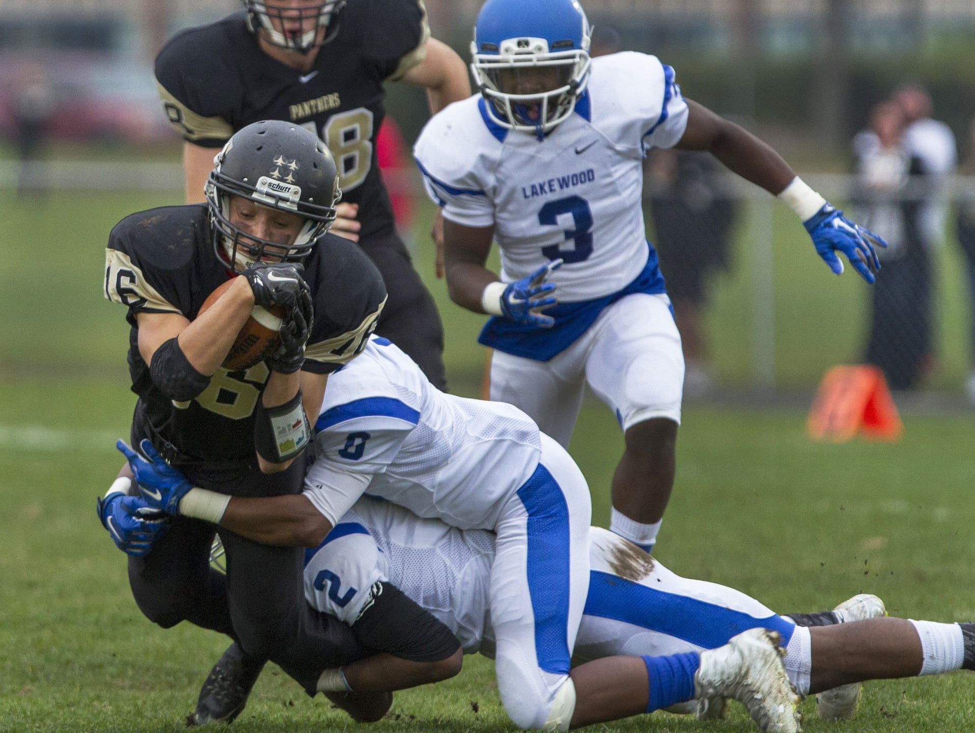 The Class B south football title was decided on Nov. 7