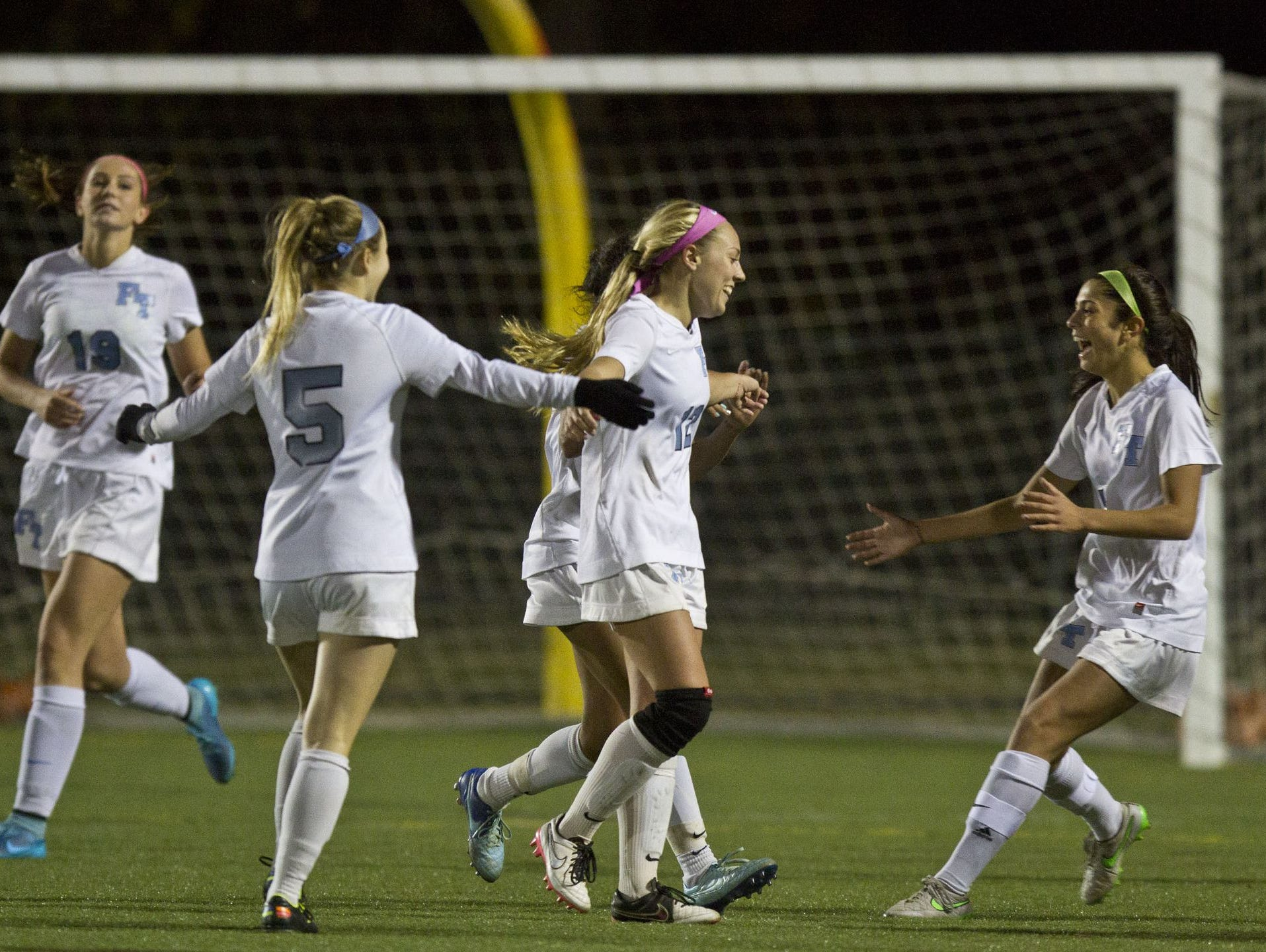 The Freehold Township girls soccer
