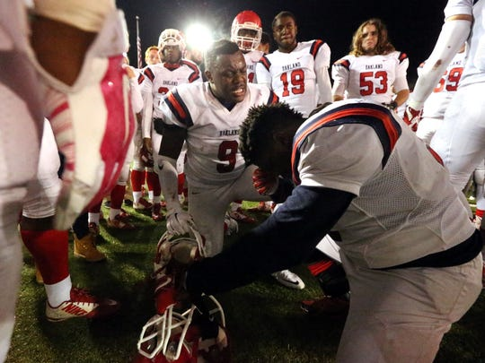 The Patriots react to Friday's season-ending loss at Maryville.