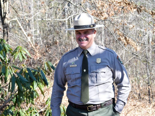 """Blue Ridge Parkway Superintendent Mark Woods has launched the """"100 Hikes"""" initiative in celebration of the 100th anniversary of the National Park Service this year."""