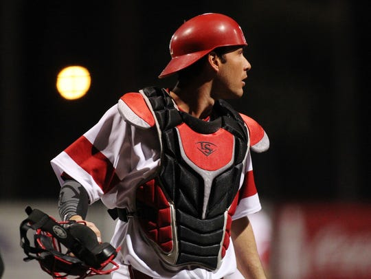 UL's Nick Thurman caught all 17 innings of a game against