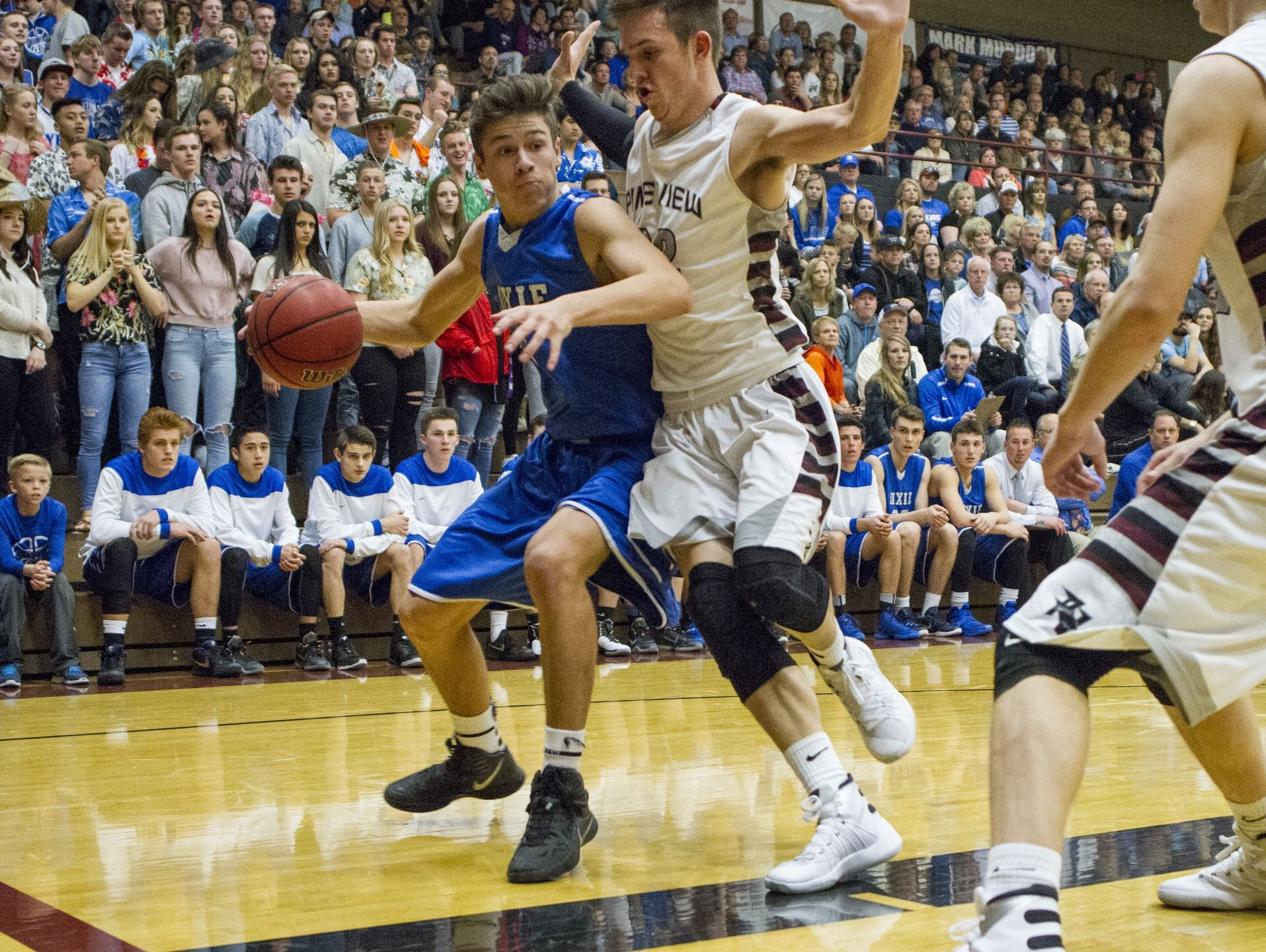 Dixie's Tyler Bennett has hit a lot of big shots in his high school career which is why coaches have nicknamed him the LeBron James of Region 9.