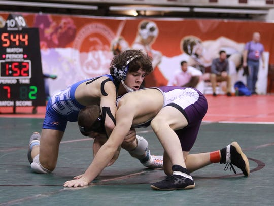 Southeastern's Alex Gordy is shown competing at Ohio